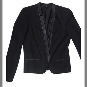 Mossimo Supply Co. Black Blazer w/ faux trim